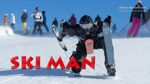 VIDEO: Rollerman Is Back With A Winter Ski Suit