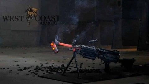 VIDEO: M249 SAW Melts Suppressor After 700 Round Burst