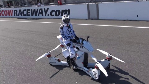 VIDEO: Hoverbike Public Flight Demonstration Shows We May Be Able To Buy One Very Soon