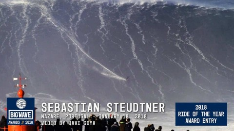 VIDEO: Big Wave Surfer May Have Just Ridden The Biggest Wave We've Seen