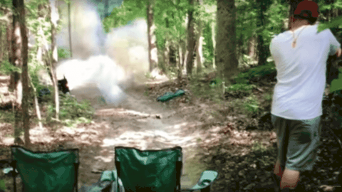 VIDEO: Guy Proves Tannerite Mishaps Are A Great Way To Get New Pants