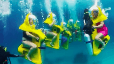 These Underwater Scooters Promise The Ultimate Underwater Adventure