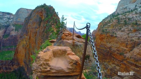 Angel's Landing Just Might Be The Most Beautifully Terrifying Hike You Can Imagine