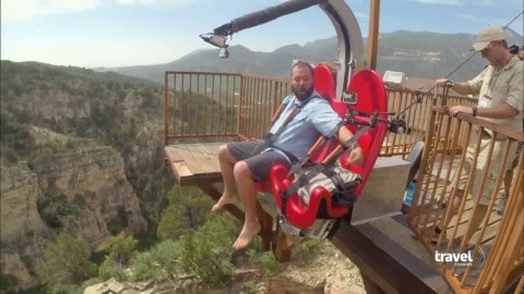 VIDEO: The Terror-Dactyl Is 100MPH Of Swinging Insanity