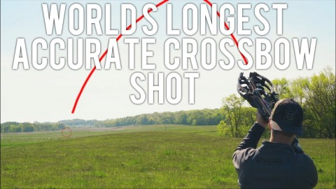 VIDEO: This Guy Just Made A 680 Yard Shot With A Crossbow