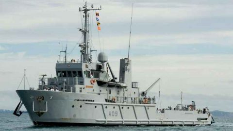 The Ultimate Fishing Vessel Is For Sale From The NZ Navy