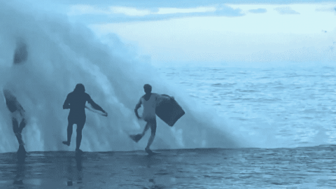 VIDEO: Water Can Be Pretty Brutal When It Wants To Be