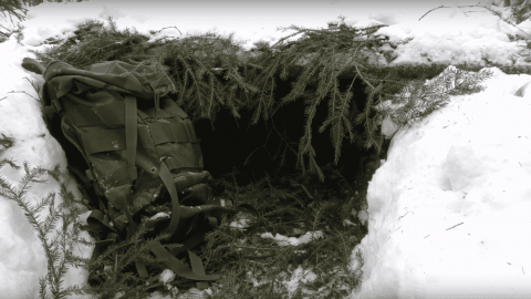 VIDEO: Quick 15 Minute Shelter Will Get You Through A Freezing Night