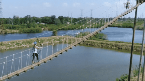 VIDEO: Incredible Zip Line Course Is Everything You've Been Wanting