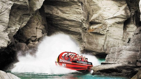 Fly Through Canyons At 52 MPH On This Jet Boat River Ride