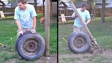 VIDEO: Removing Fence Posts Has Never Been Easier