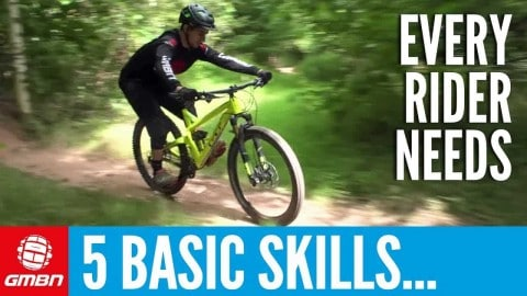 VIDEO: Top 5 Mountain Bike Skills For Beginners