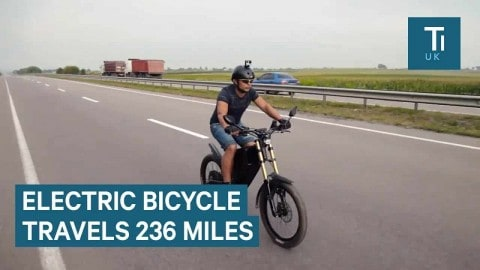 E-Bike Can Travel 236 Miles On A Charge And Go Up To 50MPH