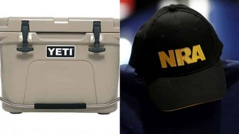 NRA Supporters Are Literally Blowing Up Yeti Coolers. Yeti Says It's All A Huge Mistake.