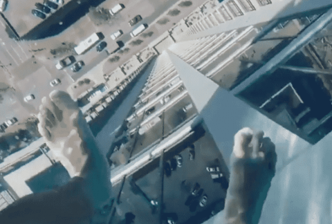 VIDEO: Glass Bottom Pool Sits 42 Stories Up With A View Of The Street Under It