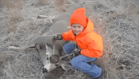VIDEO: Little Girl Has Intense Case Of Buck Fever And It's Priceless