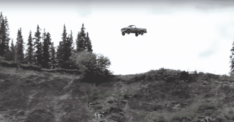 No Fireworks Here: Alaskans Launch Cars Off A Cliff To Celebrate 4th Of July