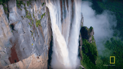 VIDEO: Climbing Angel Falls Is Equal Parts Beautiful And Terrifying