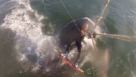 Kiteboarder Hits Humpback Whale In The Middle Of Ride