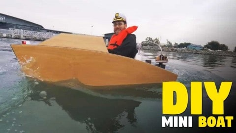 Who Needs A Yacht When You Can Build Your Own Mini Boat?