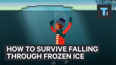 Here's How To Make It Out Alive If You Ever Fall Through A Frozen Lake