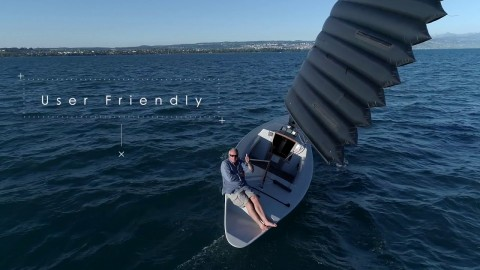 VIDEO: Inflatable Wing Sails Bring The Future To Sailing