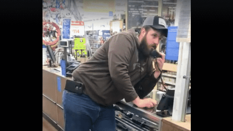 Annoyed Hunter Uses The PA To Get Help Buying A Hunting License At Walmart