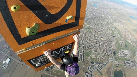 VIDEO: Scaling The World's Highest Rock Climbing Wall Is As Terrifying As You'd Imagine