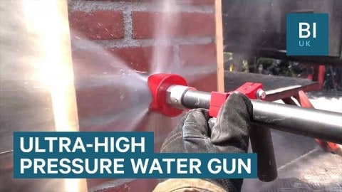 Hose Cuts Through Brick And Metal To Fight Fires