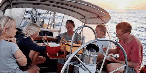 Family Has Been Sailing Around The World For Nine Years