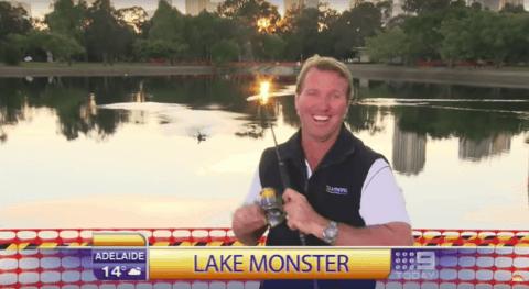 VIDEO: Angler Hooks Bird On Live TV As Fishing Segment Goes Wrong