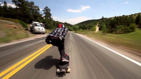Watch Longboarder Soar Down Hill At 70 MPH