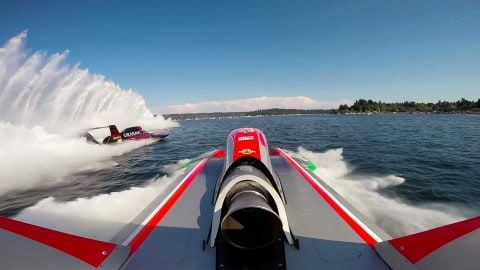 VIDEO: World's Fastest Hydroplane Is A Neck-Breaking Speed Machine