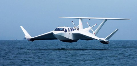 VIDEO: This Sea-Craft Is A Plane/Boat Hybrid
