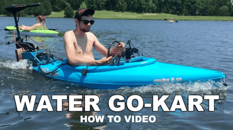 Kayak Go-Karts Exist And Here's How To Build One