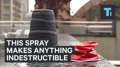 VIDEO: Spray Anything With This And It Becomes Indestructible