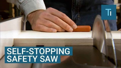 The SawStop Will Make Sure You Keep All Your Fingers In Tact