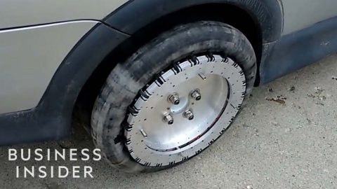 VIDEO: Cars Can Move Sideways With These Omnidirectional Wheels