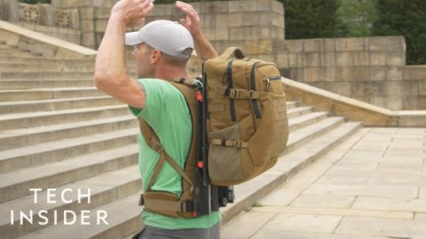 Incredible Floating Backpack Is Every Hikers Dream