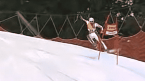 VIDEO: Skier Takes A Life-Changing Hit To The Groin During Painful Downhill Run