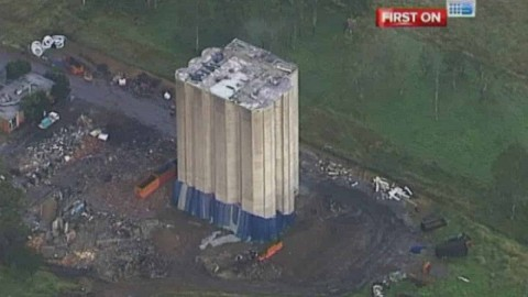 VIDEO: Building Demolition Doesn't Go As Planned