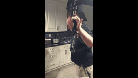 Don't Stick Your Head Between A Fully Drawn Compound Bow Presented By This Showoff