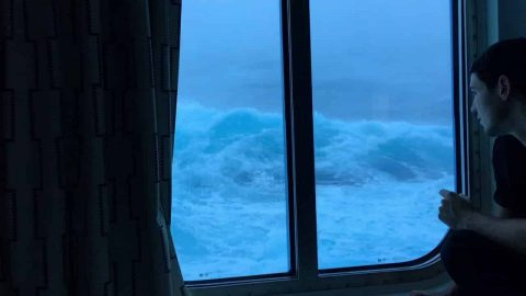 Massive Waves And 120 MPH Winds Can Take The Fun Out Of Cruise Ships