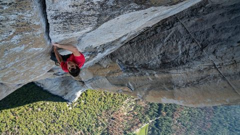 Climber Alex Honnold Describes How He Climbed A 3,000-Foot Vertical Cliff With No Ropes