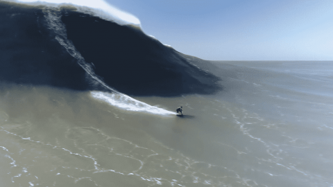 VIDEO: Riding 60 Foot Monsters Is A Surfers Dream