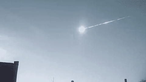 VIDEO: Meteor Tears Across The Sky In Russia For The Third Time In Four Months