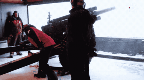 VIDEO: Ski Patrollers Fight Avalanches With Old WWII Cannon