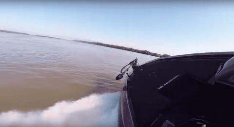 Watch Bass Boat Hit 102 MPH Right Before Crashing