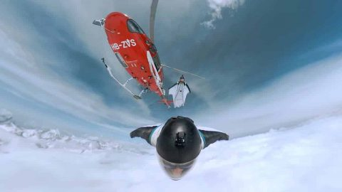 VIDEO: Man Flies Wingsuit Through The Swiss Alps And It's A Living Dream