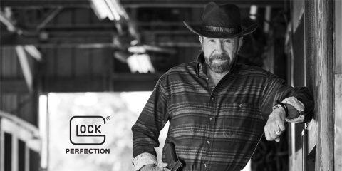 Chuck Norris Named Glock's New Spokesman
